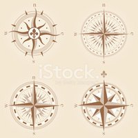 Old-fashioned,Compass Rose,...