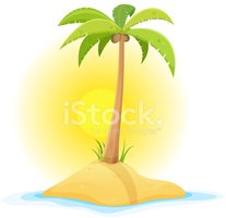 Palm Tree,Banner,Water,Beac...