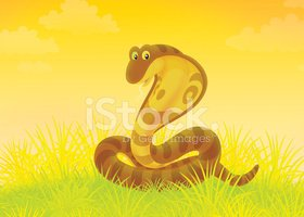 Hissing,Cartoon,Grass,Spira...