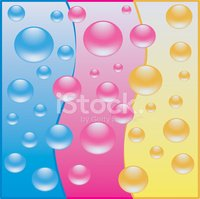 Bubble,Pink Color,Waterproo...