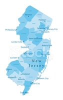 New Jersey,Cartography,Map,...