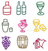 Wine Bottle,Wine,Symbol,Com...