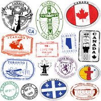 Canada,Postage Stamp,Rubber...