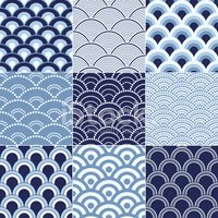 Sea,Wave,Seamless,Pattern,B...