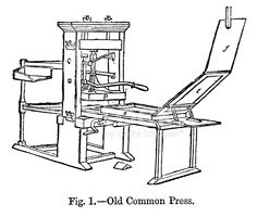 Printing Press,Print,Engrav...
