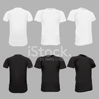 T-Shirt,template,Black Colo...