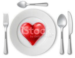 Plate,Heart Shape,Dinner,Si...