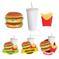 French Fries,Hamburger,Meat...