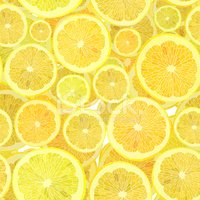 Citrus Fruit,Seamless,Lemon...