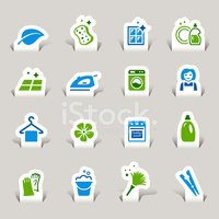 Cleaning,Computer Icon,Symb...