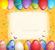 Easter Egg,In A Row,Easter,...