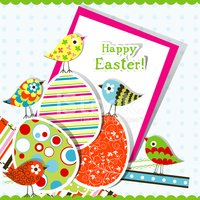 Easter,Eggs,Bird,Spotted,Pa...
