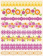 Floral Pattern,Flower,Silho...