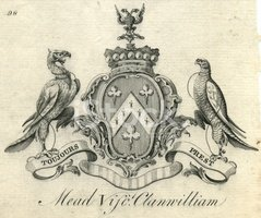 Coat Of Arms,Engraved Image...