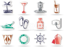 Interface Icons,Beach,Busin...