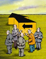 Group Of People,Arguing,Bus...