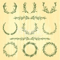 Laurel Wreath,Wreath,Olive,...