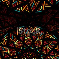 Decorative abstract background with stylized stained glass windo