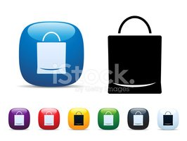 Buying,Icon Set,Paper Bag,S...