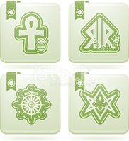 Ankh,Anglican,Outline,Relig...