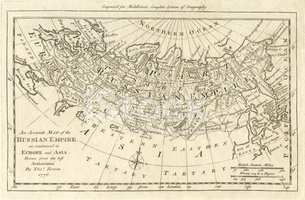 Map,Russia,Old-fashioned,An...