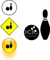 Bowling,Symbol,Road Sign,Ac...