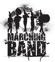 Marching Band,Silhouette,Gr...