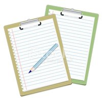 Letter,Note Pad,Paper,Penci...