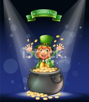 St. Patrick's Day,Cheerful,...