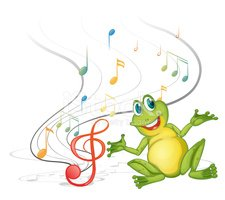 Frog,Singing,Animal,Image,A...