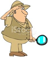 Magnifying Glass,Waistcoat,...