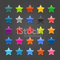 Star Shape,Label,Background...
