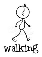 Walking,Child,Fun,Doodle,Sk...