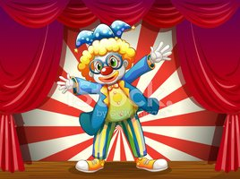 Clown,Game Show Host,Happin...