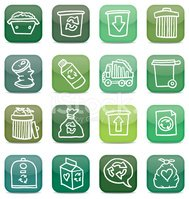 Icon Set,Garbage,Can,Comput...