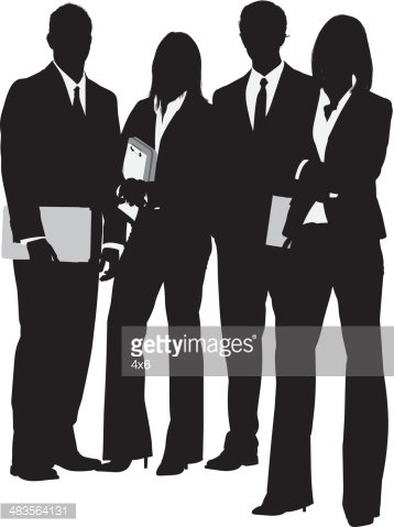 Silhouette Business People PNG Images, Silhouette Business People Clipart  Free Download
