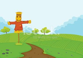 Scarecrow,Tree,Crop,Space,F...