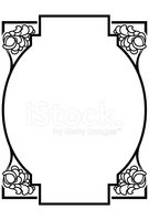 Art Deco,Frame,Vector,Black...