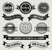 Made In The Usa,Award Ribbo...