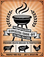 Pig,Barbecue Grill,Flyer,Ch...
