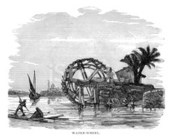 Water Wheel,Technology,Indu...