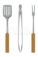 Barbecue Grill,Tongs,Kitche...