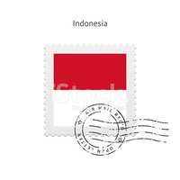 Square Shape,Indonesia,Flag...