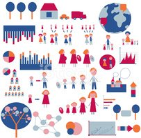 Infographic,Child,Family Tr...