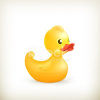 Rubber Duck,Toy,Isolated,Co...