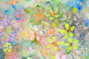 Flower,Pastel Colored,Hand ...