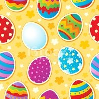 Seamless,Easter,Holiday,Cel...