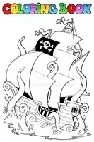 Coloring Book,Nautical Vess...