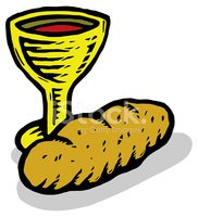 Communion,Last Supper,Bread...