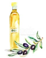 Watercolor Painting,Olive,F...